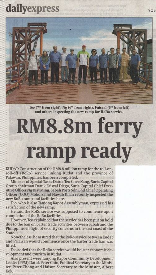 RM8.8m ferry ramp ready